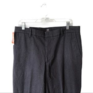 DOCKERS Classic Fit Iron Free Flat Front 34x34